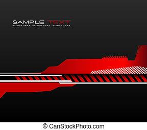 arrière-plan., résumé, rouges