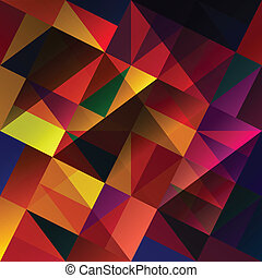 arrière-plan., résumé, vecteur, eps10, multi-coloré