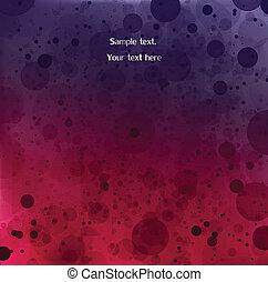 arrière-plan., résumé, vecteur, illustration, violet