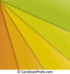 arrière-plan., résumé, vert