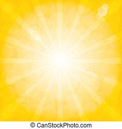 arrière-plan., radial, pattern., sunburst