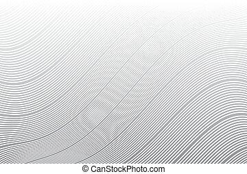 arrière-plan., rayé, ondulé, lignes, texture.