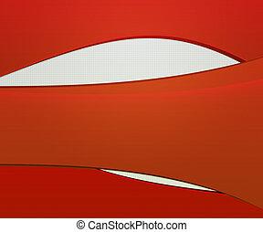 arrière-plan rouge, élément