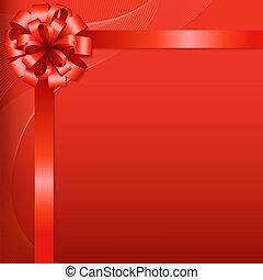 arrière-plan rouge, arc