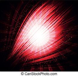 arrière-plan rouge, beau, résumé