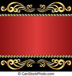 arrière-plan rouge