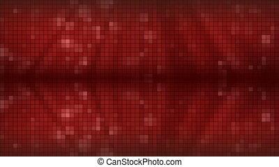 arrière-plan., rouges, mosaïque