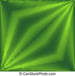 arrière-plan vert, métallique
