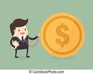 arriba., financiero, cheque