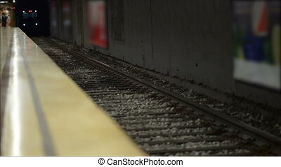 arrivée, métro