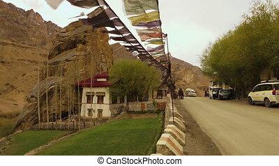 Arrival at Mulbekh Monastery at Namika La Pass - Medium...
