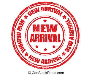 arrival-stamp, nieuw