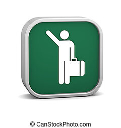 Arriving Flights Sign