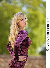 arrogant blond fashion model