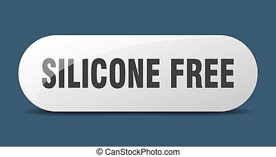 arrondi, sticker., verre, silicone, gratuite, button., signe...