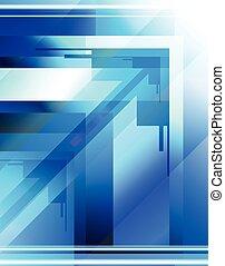 arrow background design page conceptual vector illustration