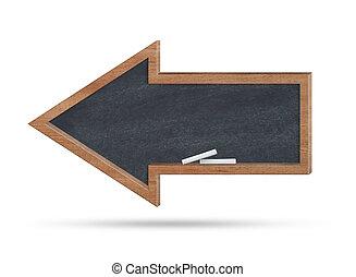 Arrow blackboard