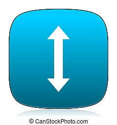 arrow blue icon