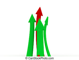 arrow business concept