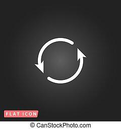 Arrow circle icon - cycle