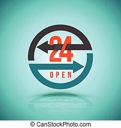 Arrow Circle Service 24 hour