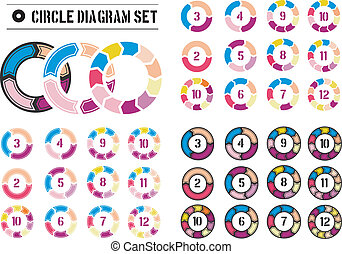 arrow circles diagrams