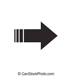 Arrow clip art graphic design template