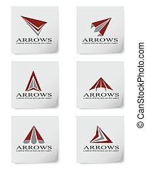 Arrow design - Vector illustration of arrow design elements...