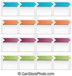 Arrow Flow Chart Icon