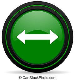 arrow green icon