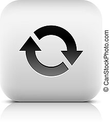 Arrow icon reload, rotation, loop, refresh sign