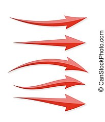 Arrow Icon Sign for Your Design. Vector Illustration.