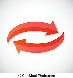 Arrow Icon Sign for Your Design. Vector Illustration