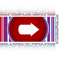 arrow icon web button