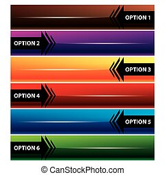 Arrow infographic vector