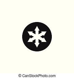 Arrow logo design,