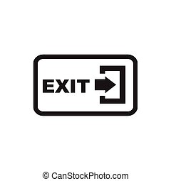 Arrow Logout Exit icon