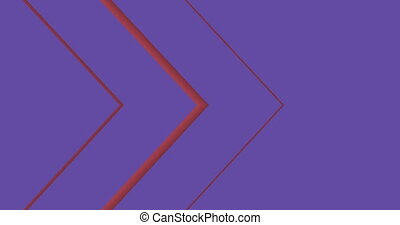 arrow motion business animation background