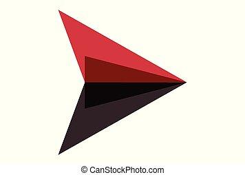 arrow paper plan logo