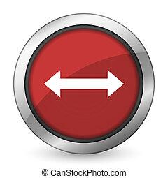 arrow red icon