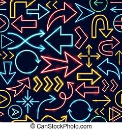 Arrow Seamless Pattern