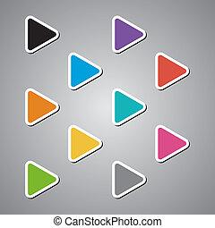 arrow set full color