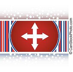 arrow set on web icon (button) vector