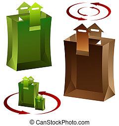 Arrow Shopping Bag