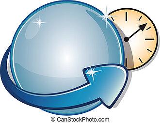 Arrow Sign & Clock Timer
