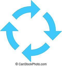 Arrow sign rotation icon reload button refresh