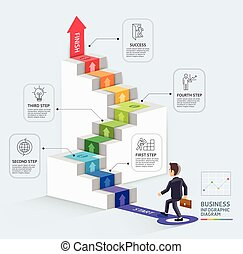 arrow step2 - Steps to starting a business template. ...