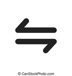 arrow symbol icon vector design
