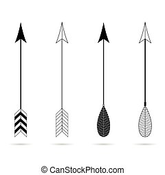 arrow symbol vector