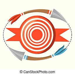 arrow target competition play game